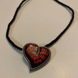 Heart pendant necklace ❤️